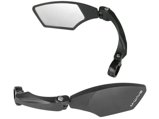 M-Wave Spy Space Cykelspejl, black